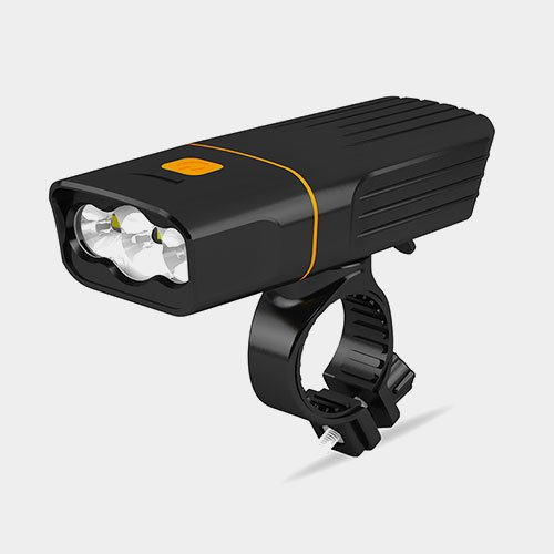 Fietslamp racefiets beam 1500 XL met geïntrigeerde powerbank