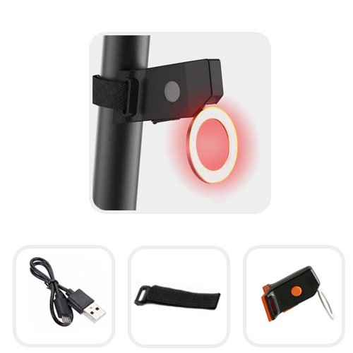 Achterlicht MTB LED oplaadbaar met fel en helder licht